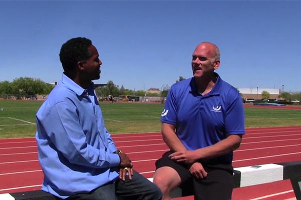 John Godina on IAAF Inside Athletics (IAAF)
