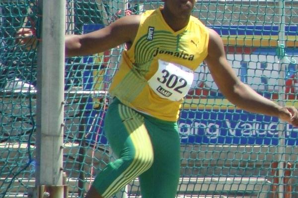 Jamaica's Travis Smikle, the U-20 CARIFTA Games champion in the Discus Throw (Carlos Clemente)