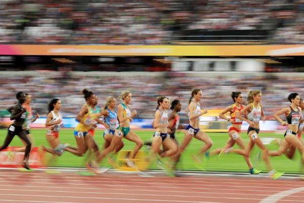 The women's 1500m at the IAAF World Championships London 2017 (Getty Images)