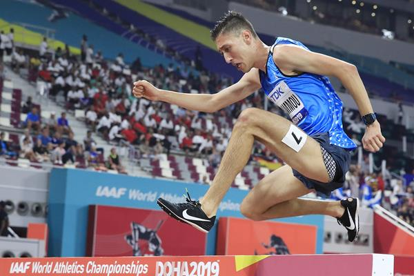 Athlete Refugee Team member Otmane Nait-Hammou in Doha (Getty Images)