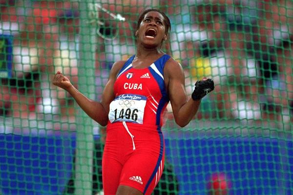 Yipsi Moreno at the 2000 Olympic Games (Getty Images)