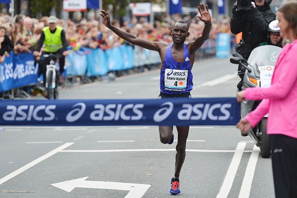 Edwin Kiptoo wins the Dam tot Damloop (Organisers)