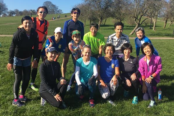 Team Paris Marathon (Hidetoshi Honda)