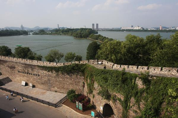 Ming Dynasty City Wall in Nanjing (Getty Images)