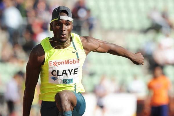 Will Claye at the 2014 IAAF Diamond League meeting in Oslo (Mark Shearman)