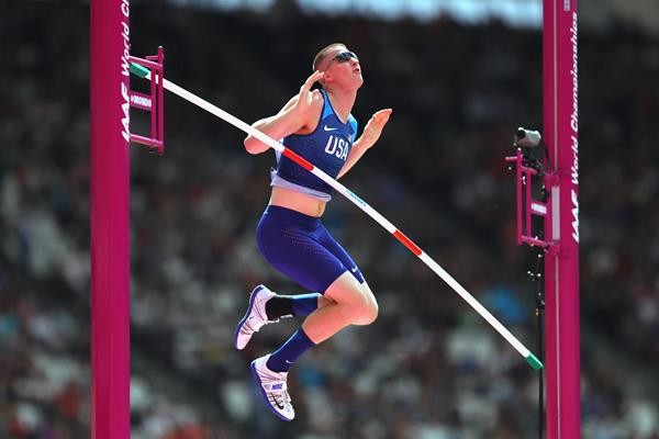 US pole vaulter Andrew Irwin (Getty Images)