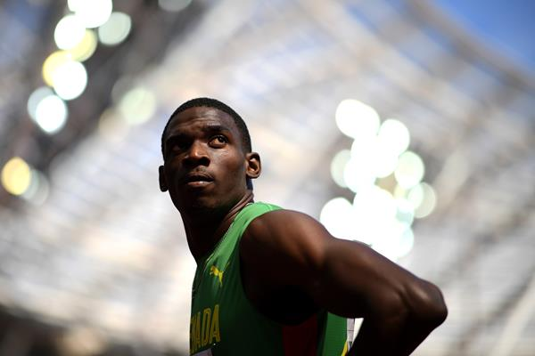 Lindon Victor in the decathlon at the IAAF World Championships London 2017 (Getty Images)