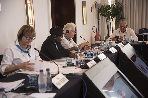 Council members attend the IAAF Council meeting in Rio de Janeiro (Getty Images)