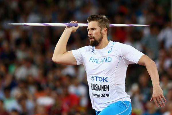 Antti Ruuskanen in the javelin at the IAAF World Championships, Beijing 2015 (Getty Images)
