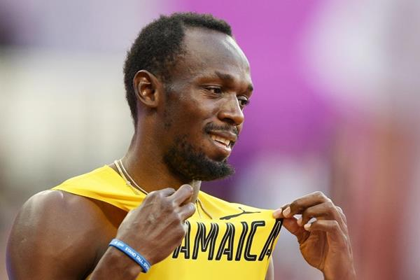 Usain Bolt ahead of the 100m semi-finals at the IAAF World Championships London 2017 (Getty Images)