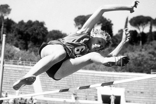 Iolanda Balas in action at the 1960 Olympic Games (Getty Images)