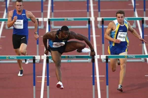 David Oliver produces great run at 2009 Sydney Track Classic (Getty Images)
