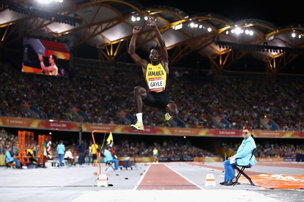 Tajay Gayle at the 2018 Commonwealth Games (Getty Images)