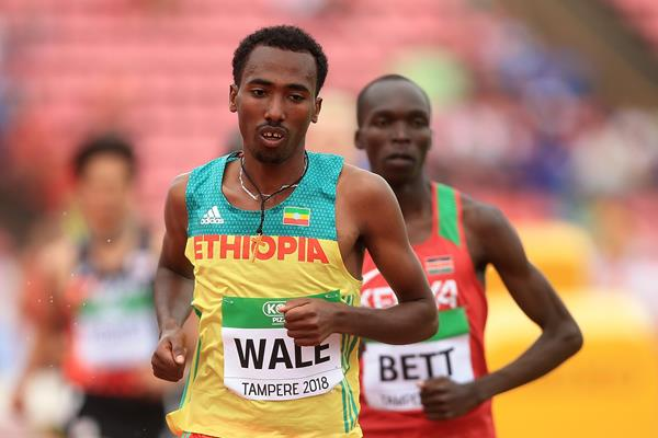 Ethiopian steeplechaser Getnet Wale (Getty Images)