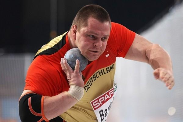 Ralf Bartels - 21.16m heave for European indoor gold (Getty Images)