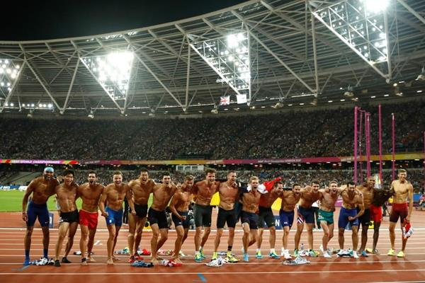 The end of the decathlon at the IAAF World Championships London 2017 (Getty Images)