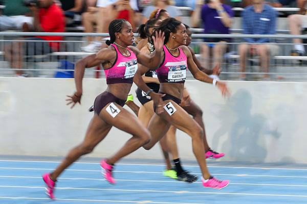 100m US trials women ()