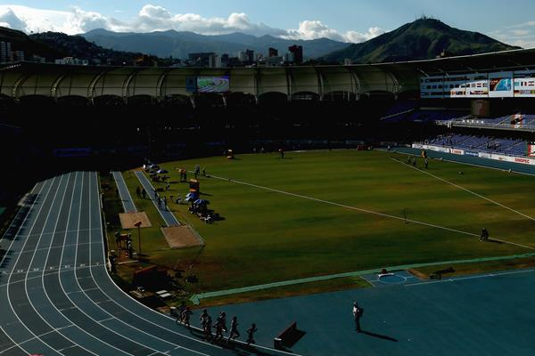 General view of Pascual Guerrero Olympic Stadium in Cali, venue of the 2015 World U18 Championships (Getty Images)