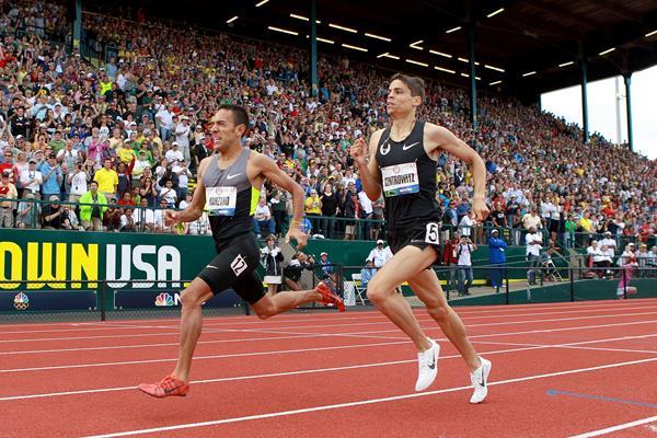 Leo Manzano and Matt Centrowitz | Tracktown USA ()