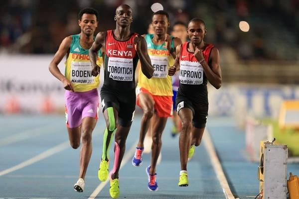 The boys' 800m at the IAAF World U18 Championships Nairobi 2017 (Getty Images)