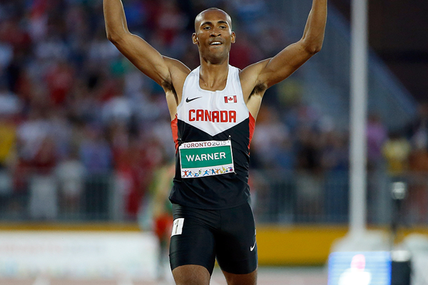 Damian Warner wins the decathlon at the Pan American Games (Getty Images)