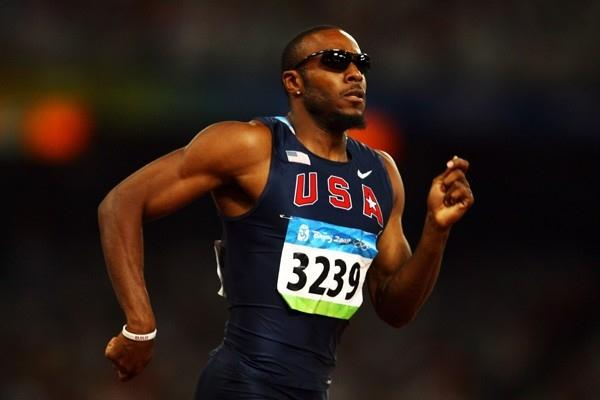 Angelo Taylor, Olympic champion eight years ago, was the fastest in the 400m hurdles semi finals (Getty Images)