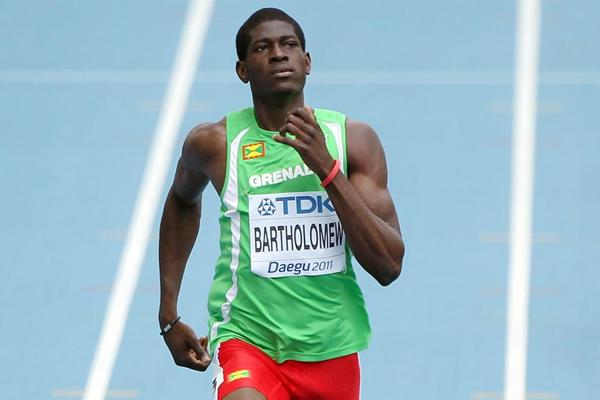 Grenadian 400m runner Rondell Bartholomew (Getty images)