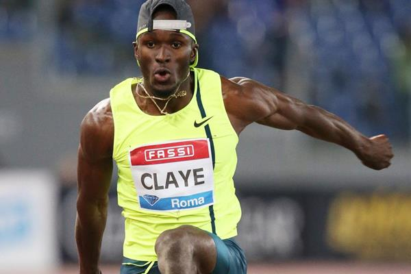 Will Claye flies to triple jump victory at the IAAF Diamond League meeting in Rome (Gladys Chai von der Laage)