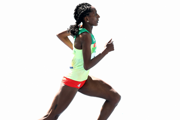 Ethiopian distance runner Etenesh Diro (Getty Images)