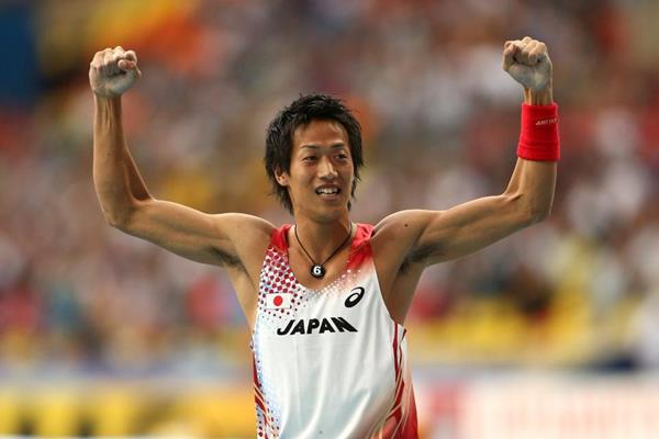 Seito Yamamoto in the pole vault (Getty Images)