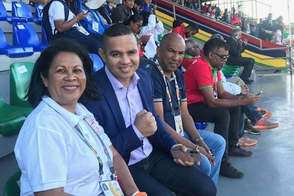 Norolalao Ramanantsoa, President of the Malagasy Athletics Federation (FMA)