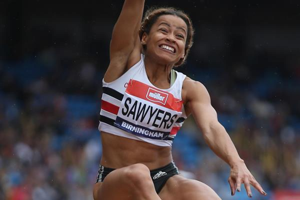 Jazmin Sawyers at the British Championships (Getty Images)