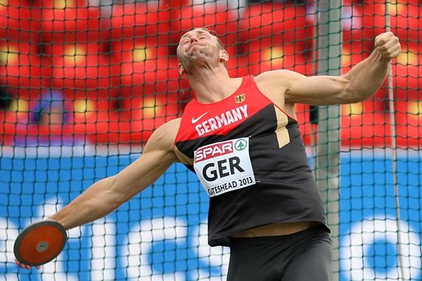 Germany's Robert Harting wins the Discus at the 2013 European Team Championships (Getty Images)