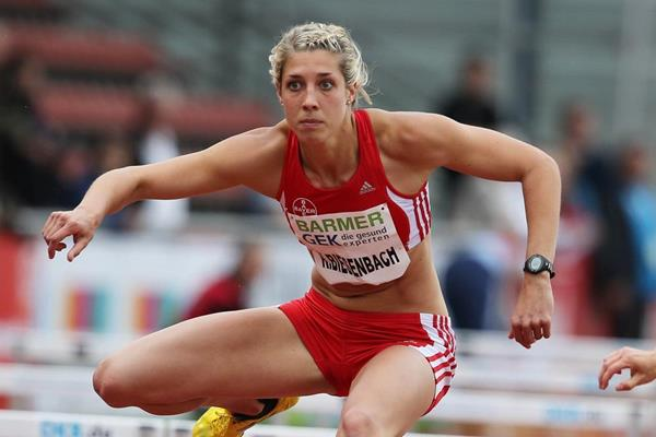 Kira Biesenbach at the 2013 IAAF Combined Events Challenge meeting in Ratingen  (Gladys von der Laage)