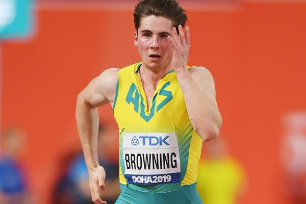 Australian sprinter Rohan Browning (Getty Images)