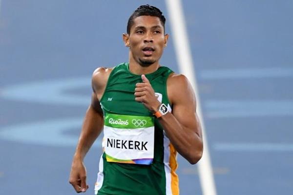 Wayde van Niekerk in the 400m heats at the Rio 2016 Olympic Games (Getty Images)