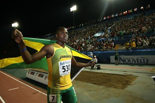 Jamaica's Dexter Lee wins his second consecutive World Junior 100m gold (Getty Images)