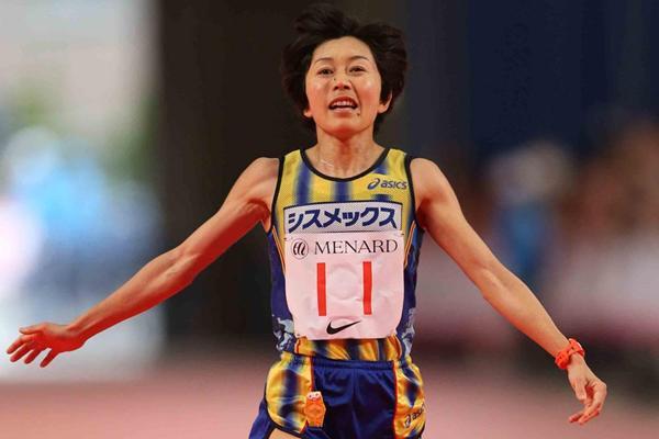 Mizuki Noguchi returns to form to finish third in Nagoya (Yohei Kamiyama/Agence SHOT)