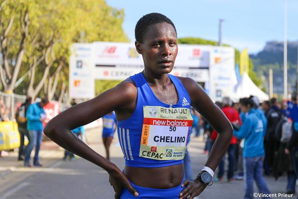 Edith Chelimo, winner of the 2017 Marseille Cassis 20km (Vincent Prieur/organisers)