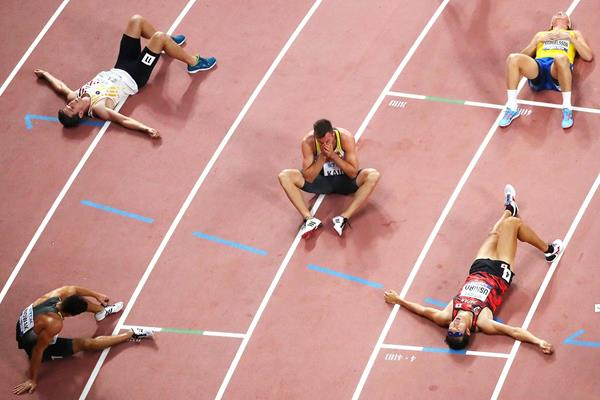 The decathlon has ended. IAAF World Athletics Championships Doha 2019 (Getty Images)