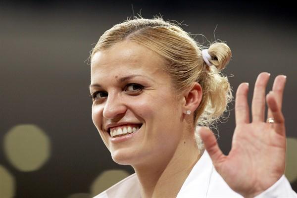 Natallia Dobrynska of Ukraine (Getty Images)