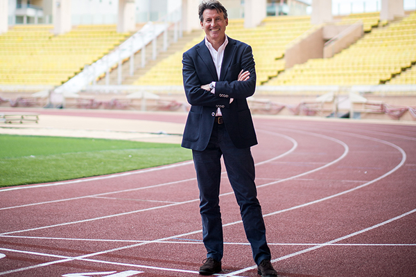 IAAF President Seb Coe in Monaco (IAAF)