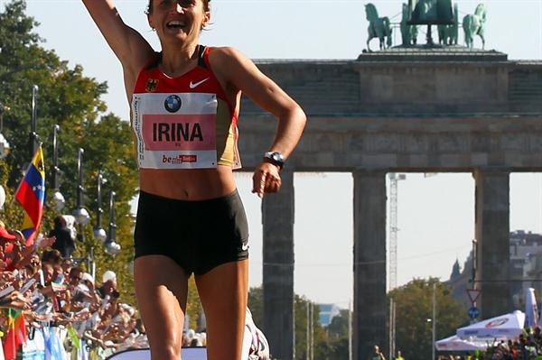 Irina Miitenko, runner-up in Berlin 2011 (Getty Images)