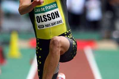 Christain Olsson of Swede in full flight - Paris (Getty Images)