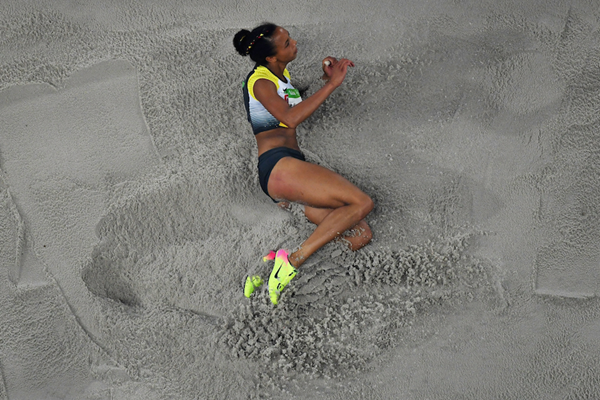 Malaika Mihambo competes in the long jump at the Rio 2016 Olympics (Getty Images)