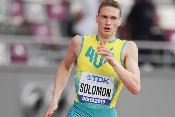 Australian sprinter Steven Solomon (Getty Images)