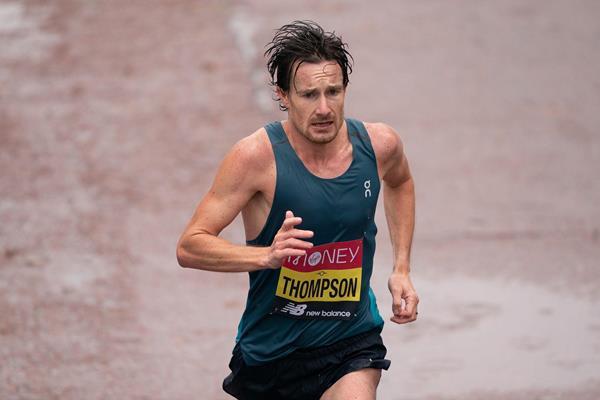 British marathoner Chris Thompson (London Marathon Events)