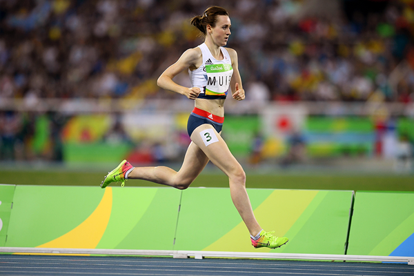 Laura Muir in the 1500m at the Rio 2016 Olympic Games (Getty Images)