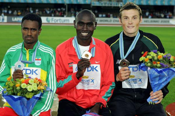 Medal Ceremony - Men's 5000m (Getty Images)