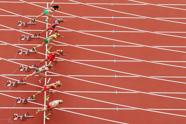 Runners out of the blocks (Getty Images)